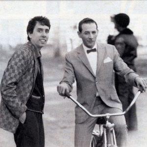 Paul Reubens rides a bike. Tim Burton directs.