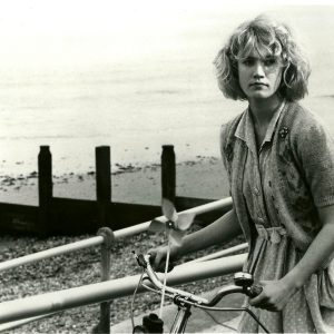 Emily Lloyd rides a bike, wishes you were here.