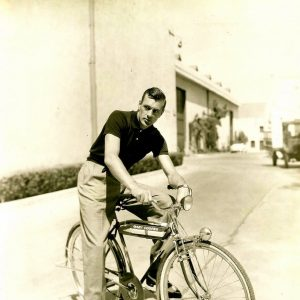 Gary Cooper rides a bike. Eponymously.