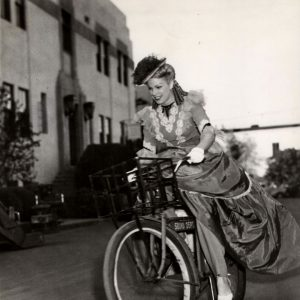 Ann Fredericks rides a Sound Department bike.