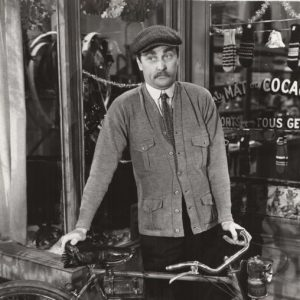 Brain Aherne sells a bike.