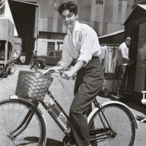 Joanne Gilbert rides a bike, eponymously.
